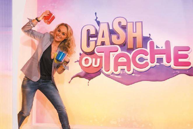 Le divertissement Cash ou tache, avec Cécile de Ménibus.