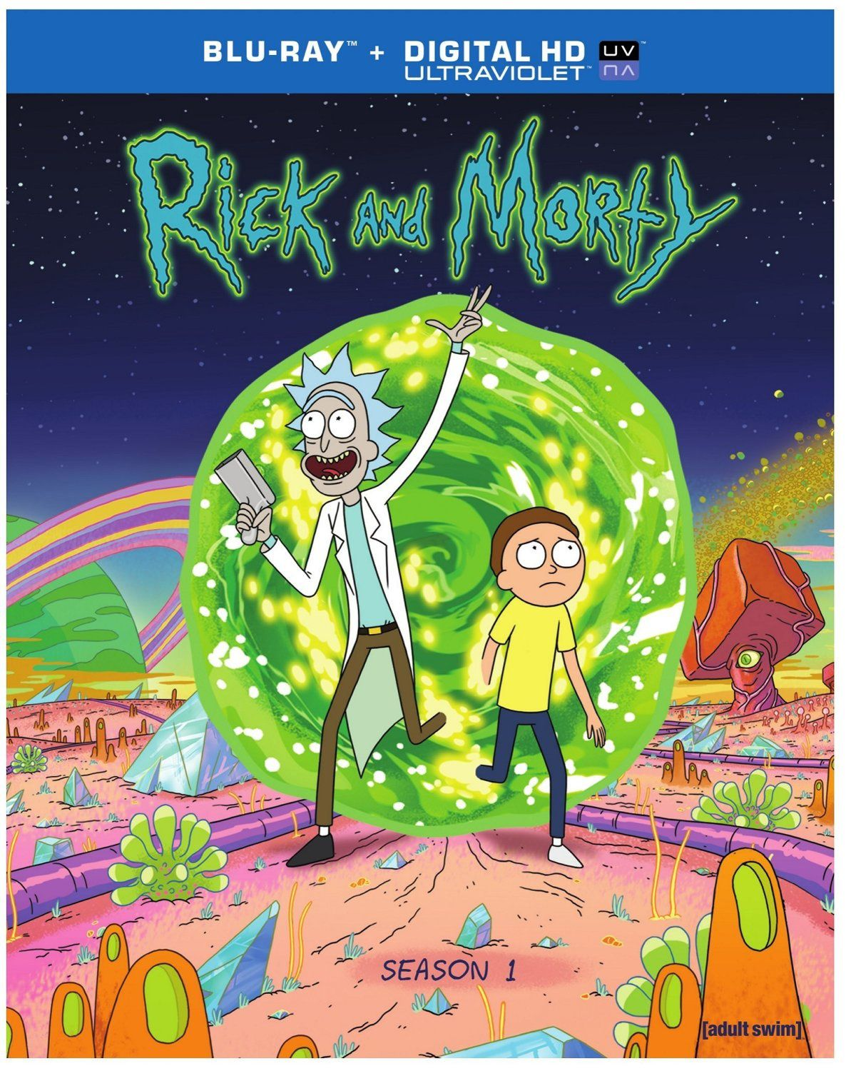 La série animée Rick and Morty bientôt sur France 4.