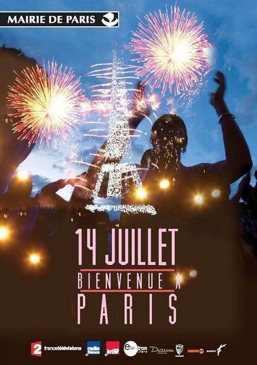 Programme musical du concert de Paris le 14 juillet 2015 au Champ-de-Mars.