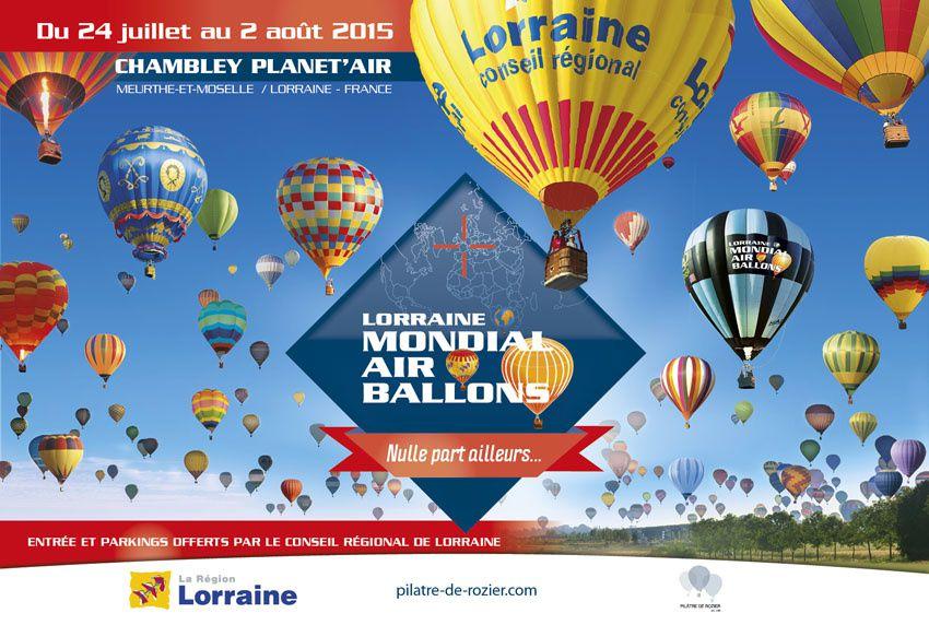 Lorraine Mondial Air Ballons : couverture de l'évènement par France 3.