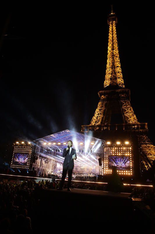 Audience du concert de Paris le 14 juillet 2015 sur France 2.