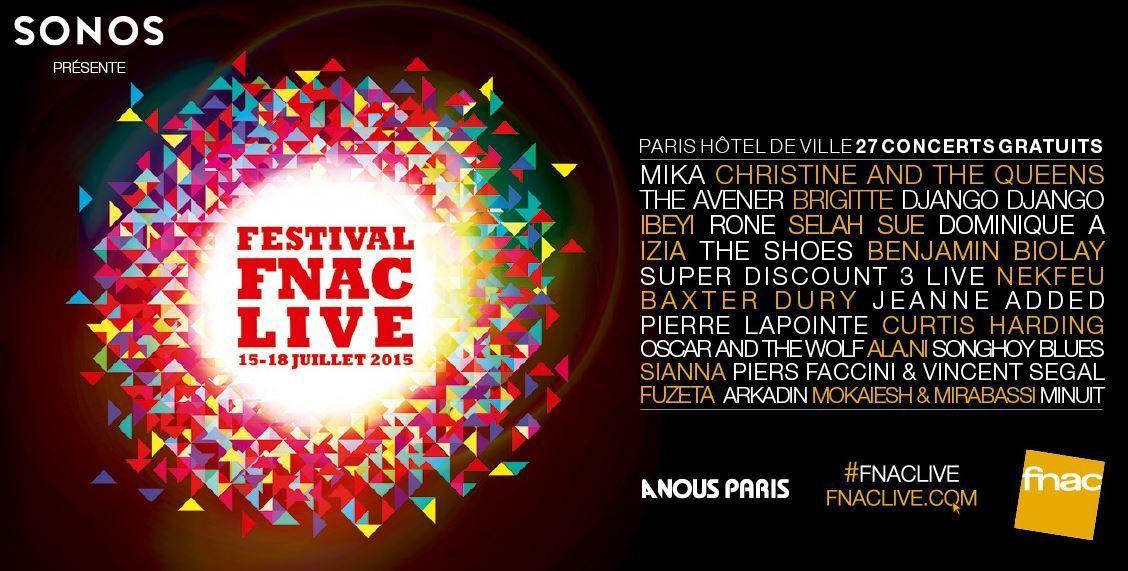 Le live de Selah Sue le 16 juillet au FNAC Live à Paris (Vidéo).