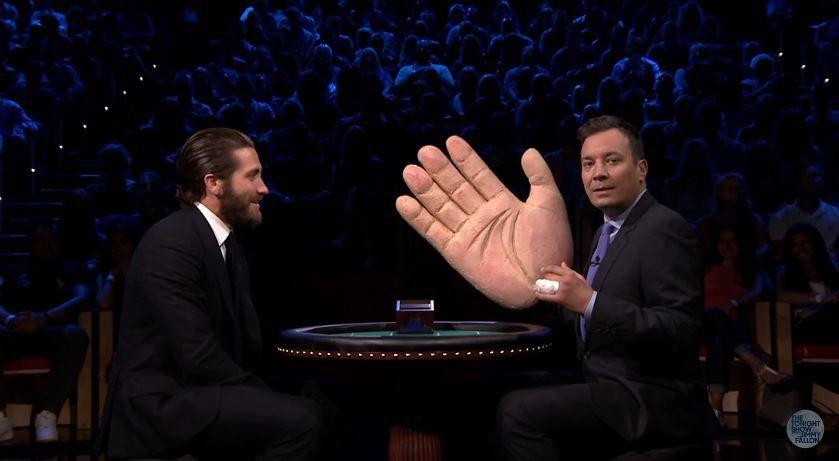 Slapjack avec Jimmy Fallon et Jake Gyllenhaal.