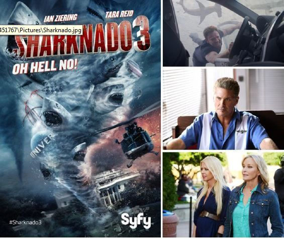 Audiences US : Sharknado 3 pas à la hauteur du volet 2.