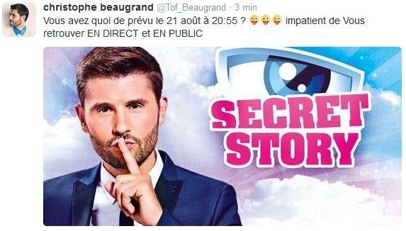 Secret story : lancement le 21 août 2015 sur TF1.