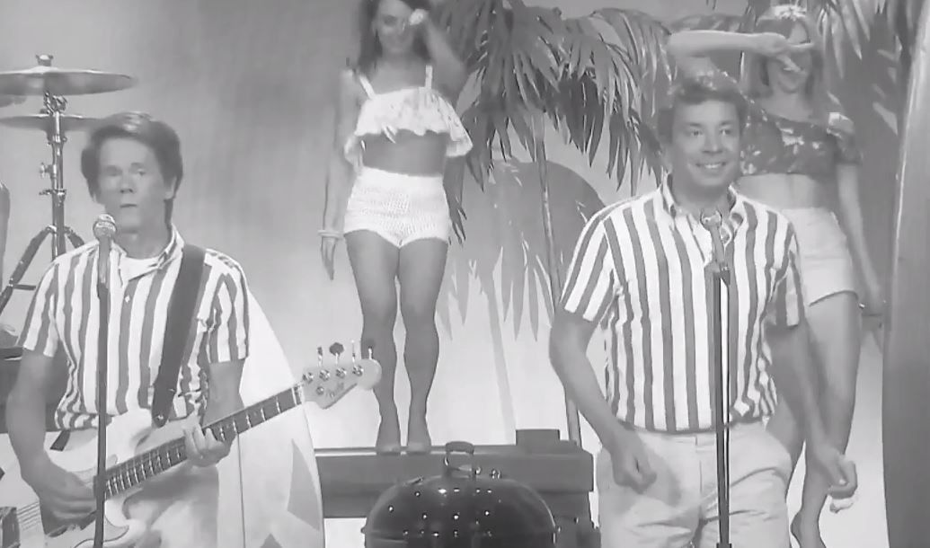Fun, fun, fun des Beachs Boys version Jimmy Fallon et Kevin Bacon.
