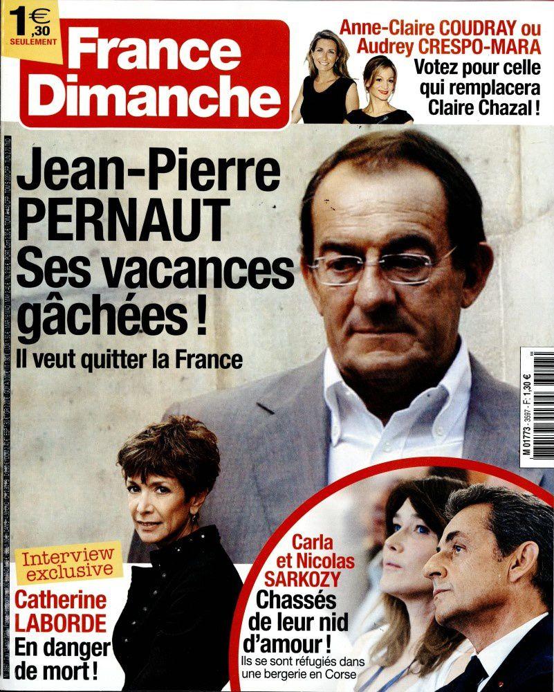 La Une de la presse people ce vendredi : Thomas Vergara, Sophie Marceau nue, Christophe Beaugrand.
