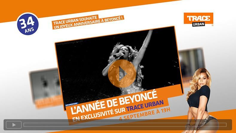 Documentaire inédit sur Beyoncé le 4 septembre sur Trace Urban.