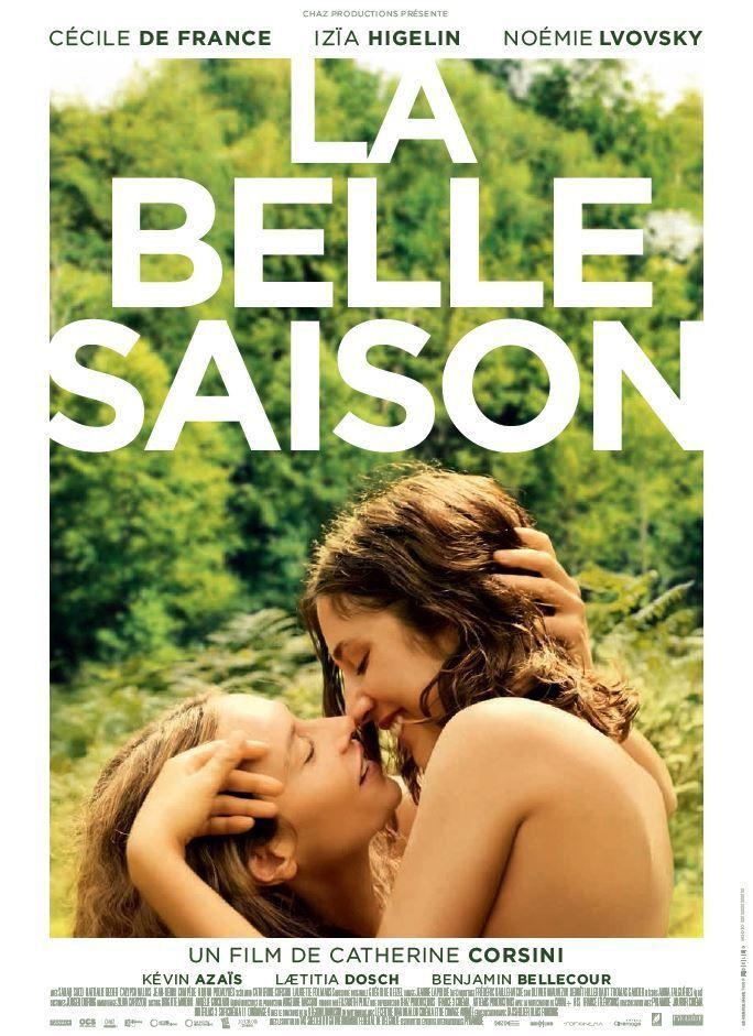 La belle saison, avec Cécile de France et Izia Higelin, en salles aujourd'hui (bande-annonce).