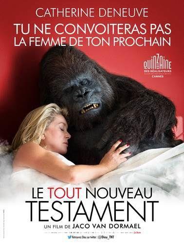 Teaser du film Le tout nouveau testament, avec Catherine Deneuve.