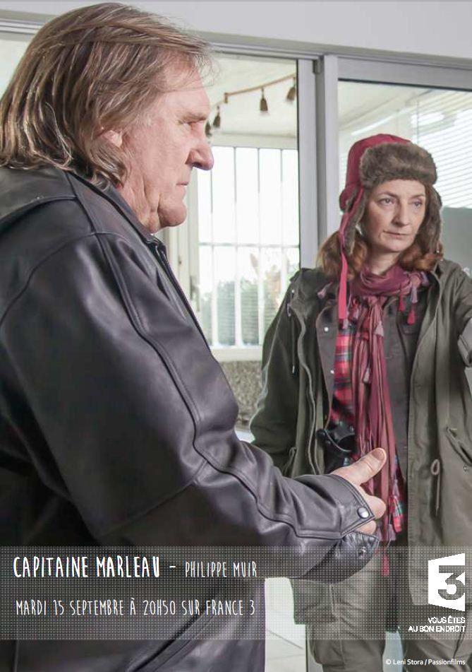 Capitaine Marleau, avec Depardieu et Corinne Masiero,  ce mardi sur France 3.