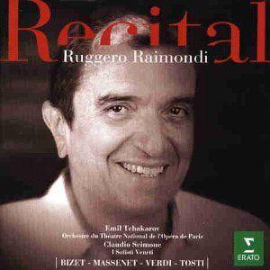 Enregistrement de la nouvelle émission d'Anne Sinclair, avec Ruggero Raimondi.