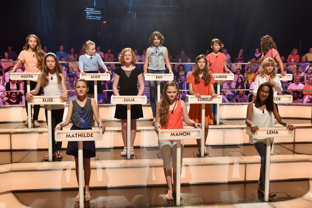 12 garçons et 12 filles pour Le grand concours des enfants ce samedi.