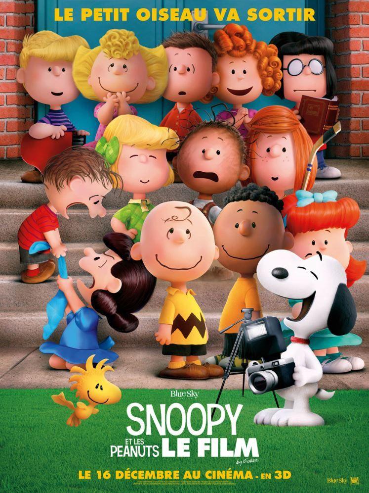 Nouvelle affiche teaser pour Snoopy &amp&#x3B; The Peanuts.