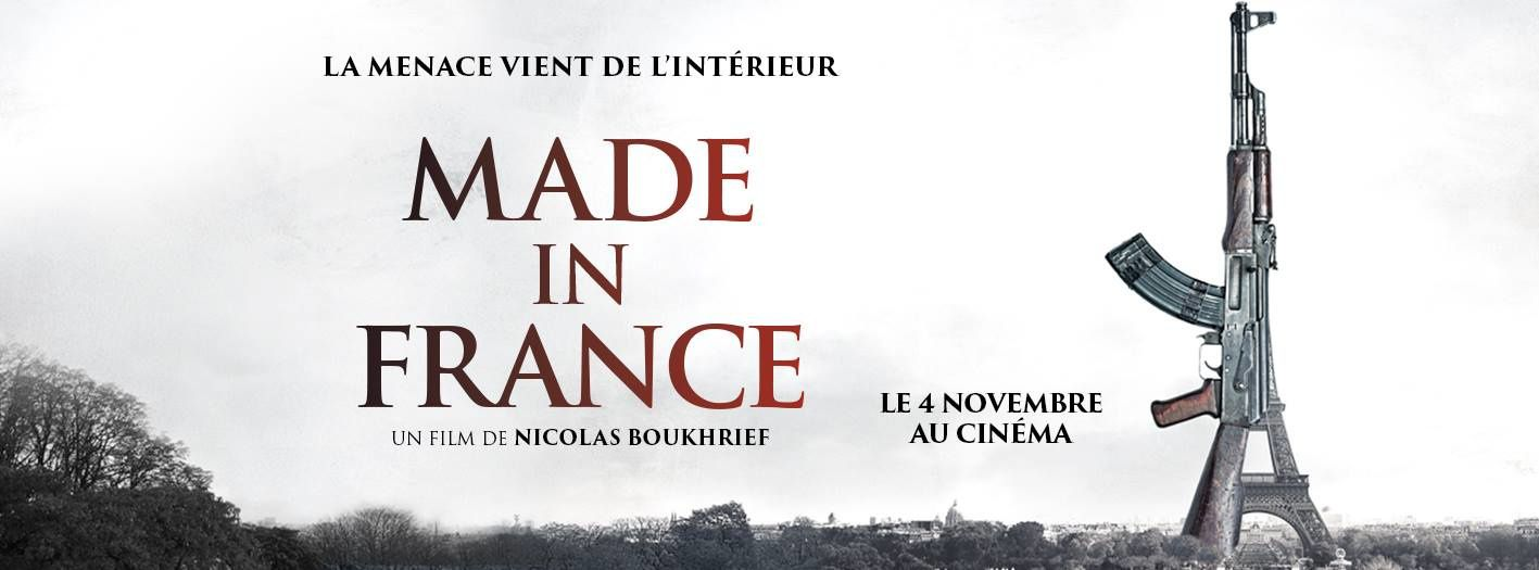 Bande-annonce du film Made in France, avec Malik Zidi.