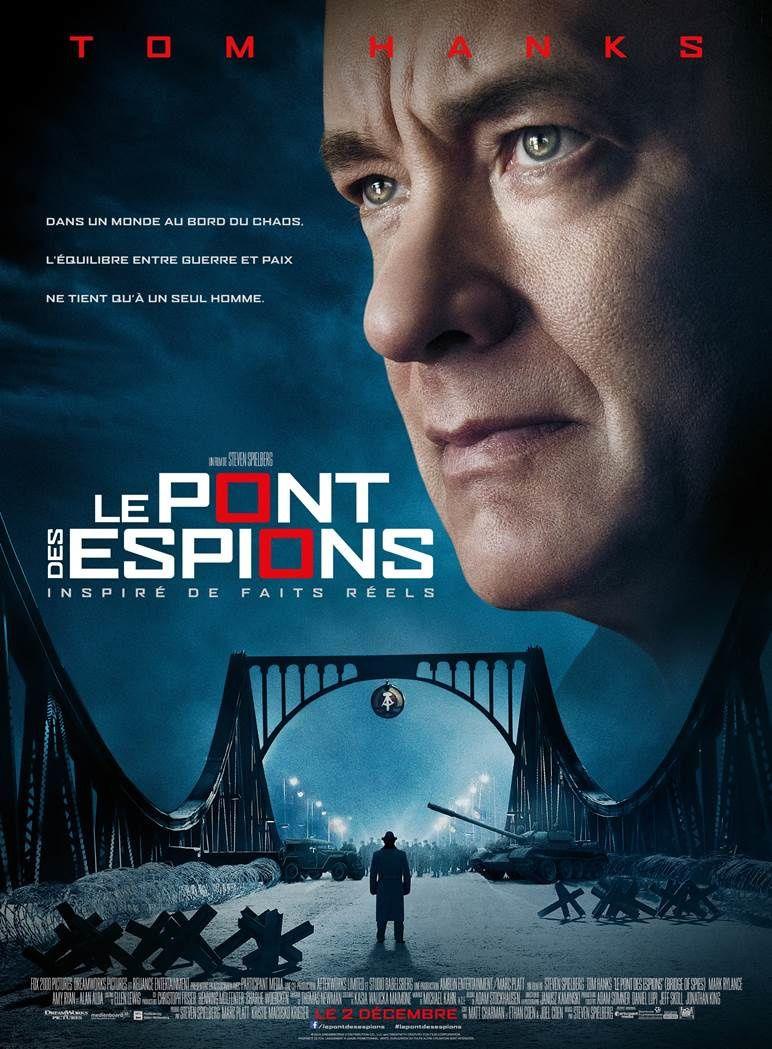 L'affiche française du film Le pont des espions, de Spielberg.