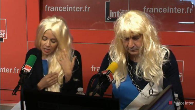 Sophia Aram et  François Morel dans la peau de Marion et Marine Le Pen.