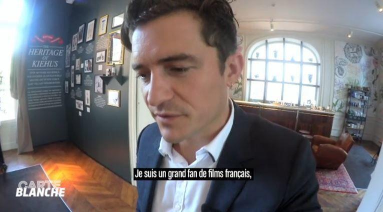 Le Grand Journal : Vidéo du module court Carte blanche (avec Orlando Bloom).