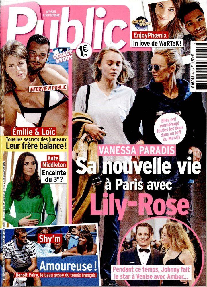 La Une de la presse people ce vendredi : Claire Chazal, Vanessa Paradis, Secret story...