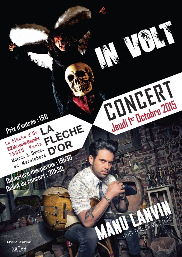 Le live de Manu Lanvin dans C à vous mardi soir (Vidéo).