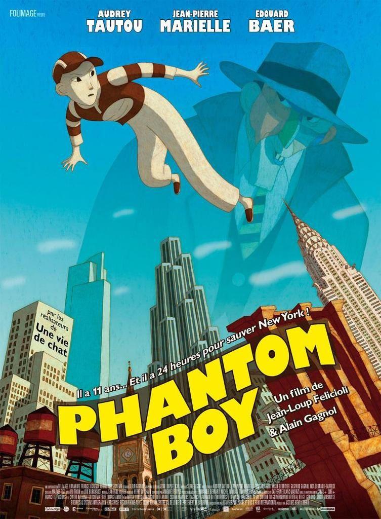 Le film animé Phantom Boy dans les salles dès ce mercredi.