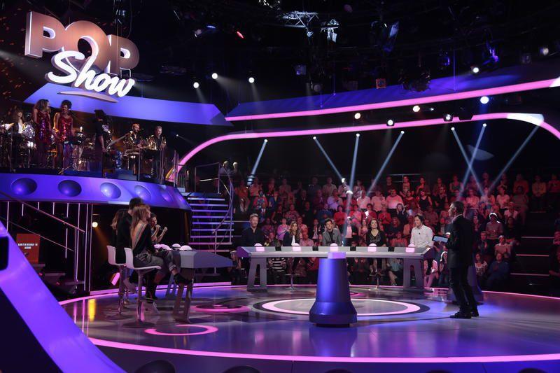 Pop Show ce samedi avec Nagui : photos du plateau.