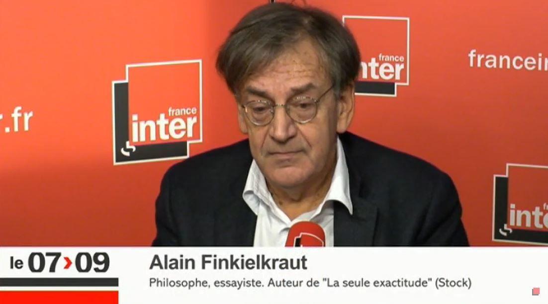 Le billet de François Morel consacré à Alain Finkielkraut (Vidéo).