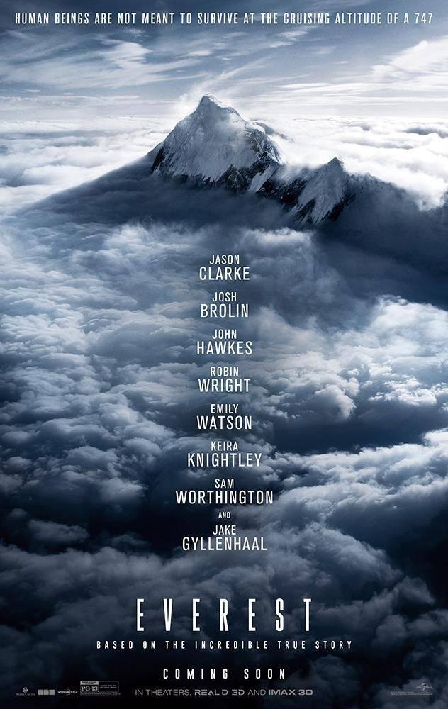 Box-office hebdomadaire : Everest reste (faible) leader.