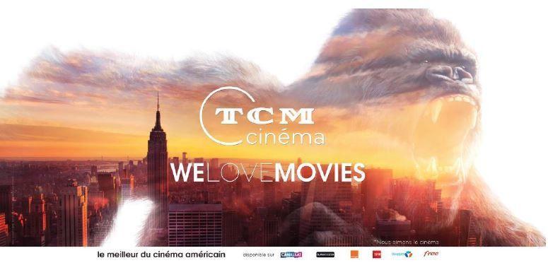 TCM Cinéma lance sa nouvelle campagne de marque (Vidéo).