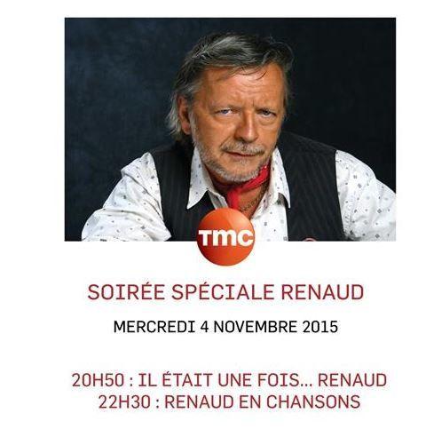 Soirée consacrée à Renaud ce 4 novembre sur TMC.