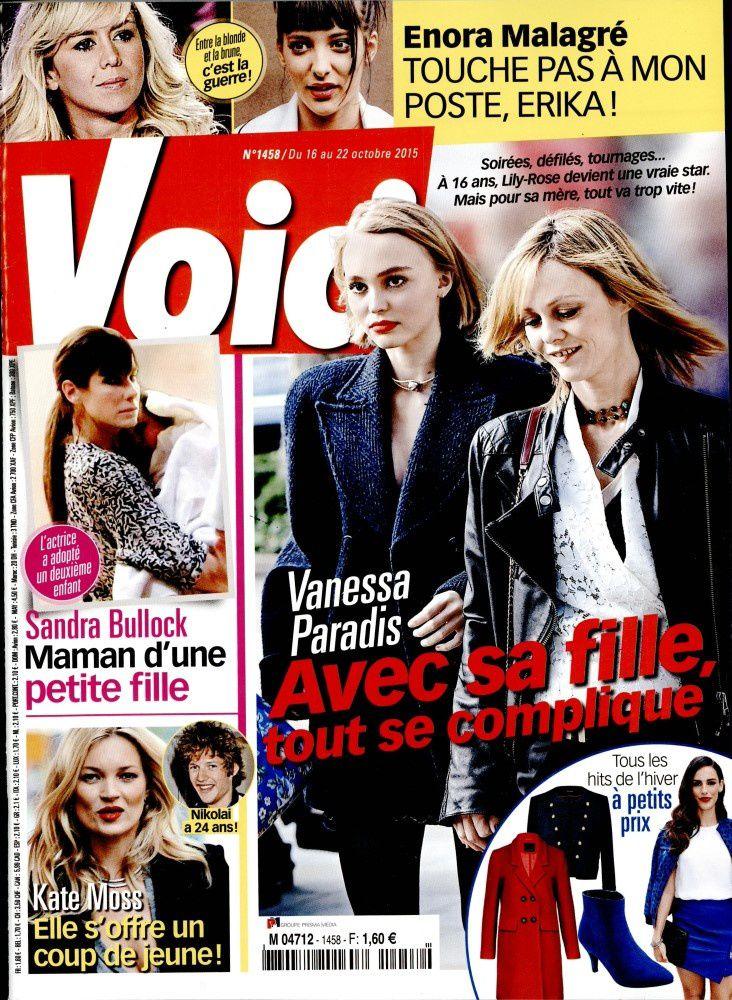La Une de la presse people ce vendredi : Enora Malagré, Vanessa Paradis, DALS.