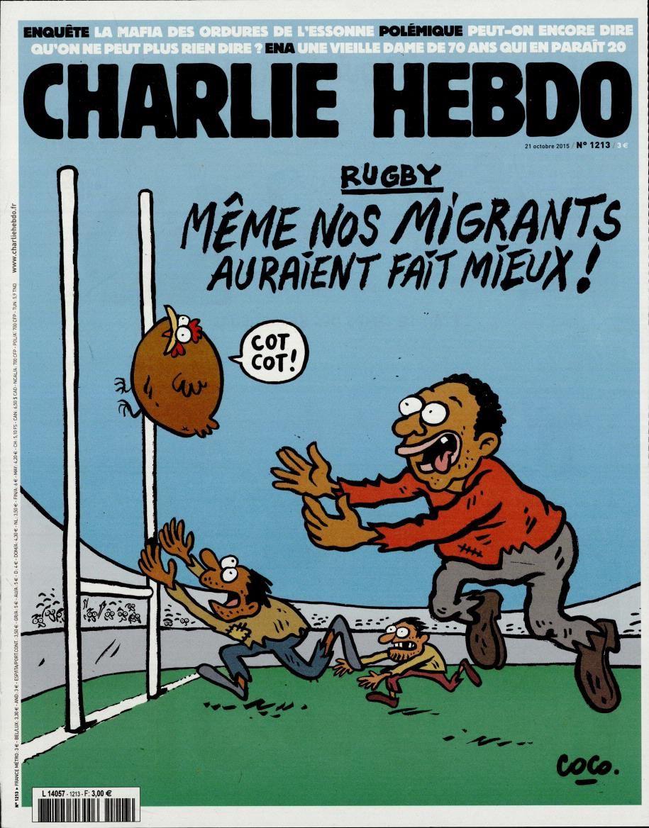 La Une de Charlie Hebdo, par Coco ce 21 octobre 2015.