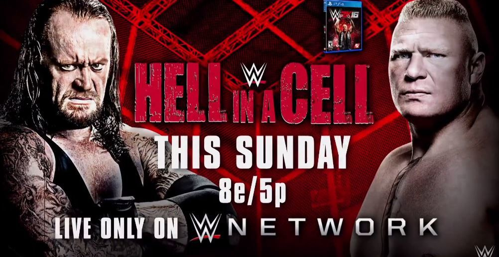 Catch US diffusé cette nuit : Hell in a cell, The Undertaker contre Brock Lesnar.