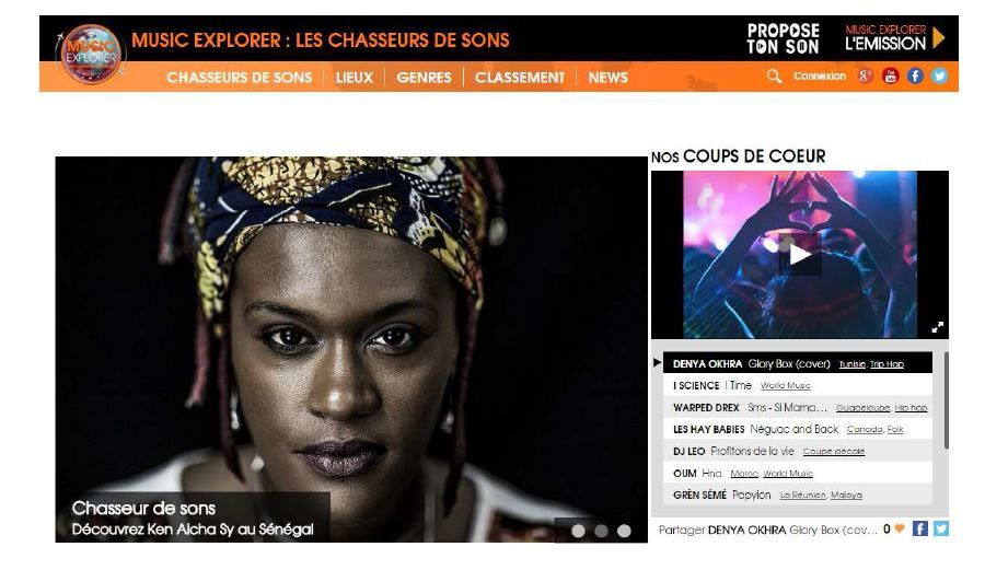 France Ô lance la plateforme digitale &quot&#x3B;Music explorer : les chasseurs de sons&quot&#x3B;.
