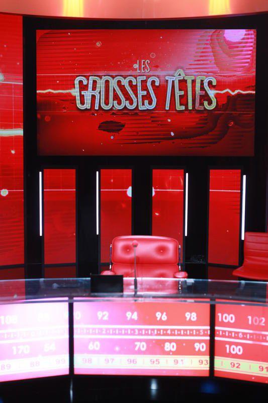 Audience des Grosses têtes avec Ruquier sur France 2.