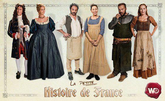 La petite histoire de France le 28 novembre sur W9 (produite par Jamel).