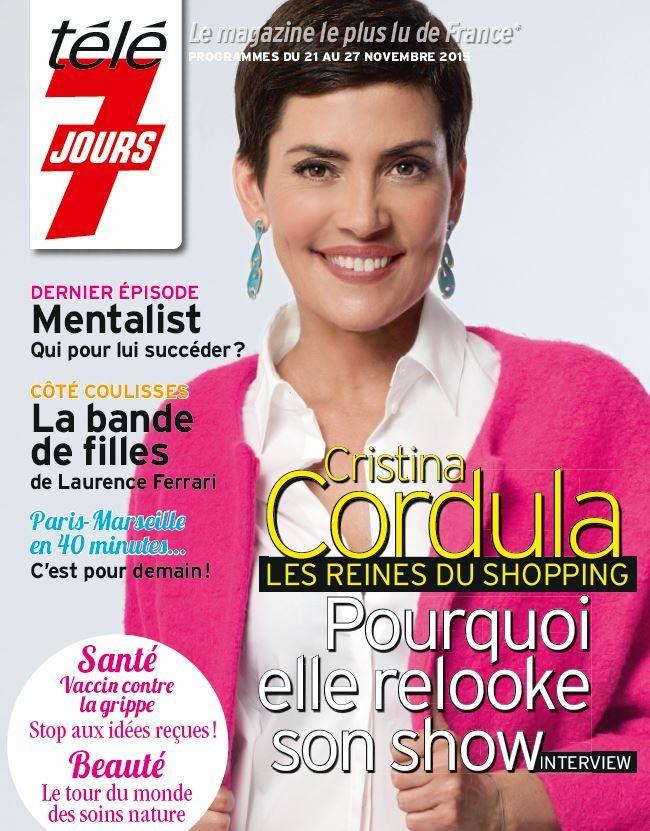 La Une de la presse TV ce lundi : Jenifer, Cristina Cordula, Mentalist...
