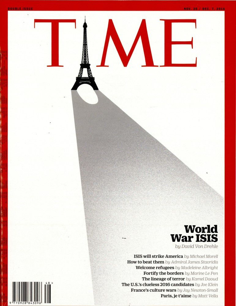 La Une de Time, The Economist, Der Spiegel, Newsweek après les massacres à Paris.