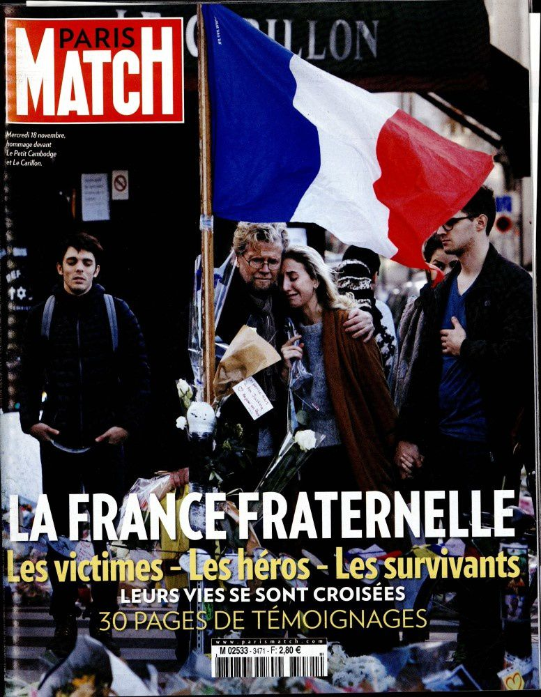 Hommage national ce vendredi matin : retransmission sur TF1, France 2, M6, TV5.