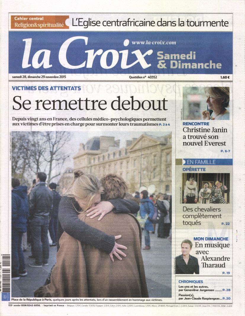 La Une des quotidiens nationaux ce samedi 28 novembre.