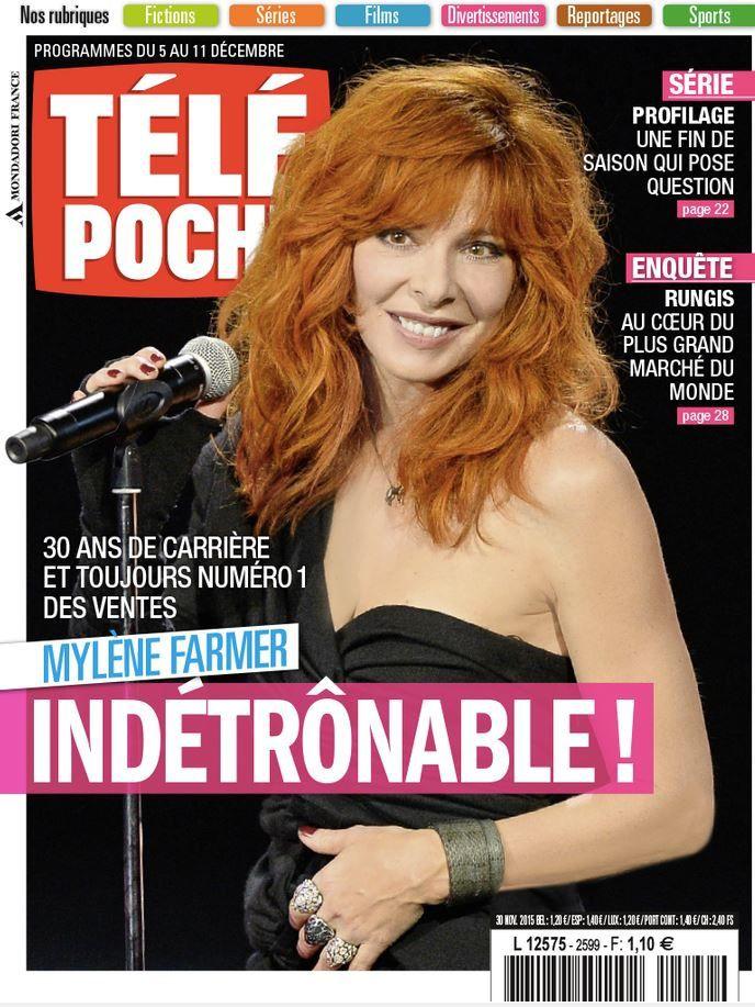 La Une des revues TV ce lundi : Odile Vuillemin, Priscilla, Mylène Farmer...