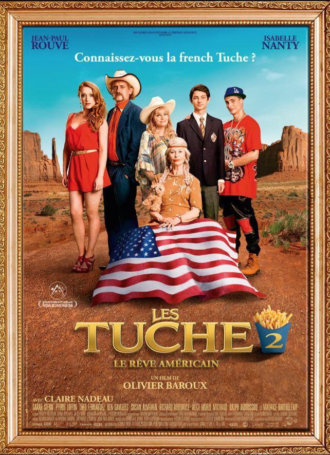 L'affiche de la comédie française Les Tuche 2.