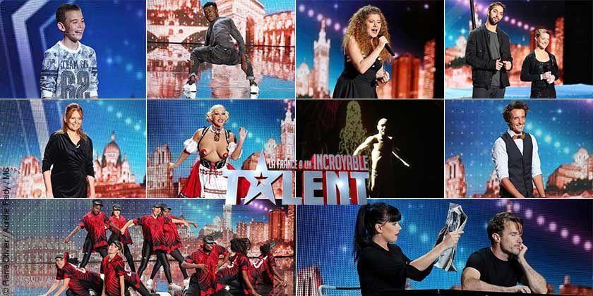 Incroyable talent ce mardi soir sur M6 : les dix demi-finalistes qui seront présents.