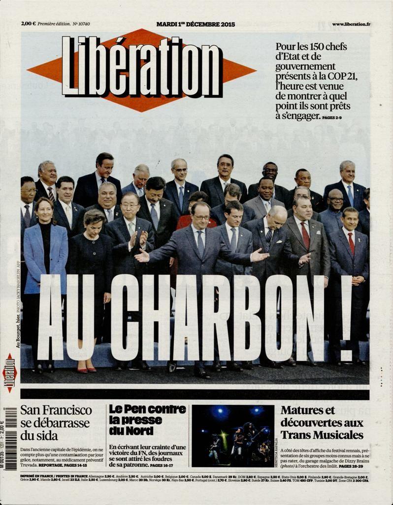 La Une de la presse quotidienne nationale ce 1er décembre.