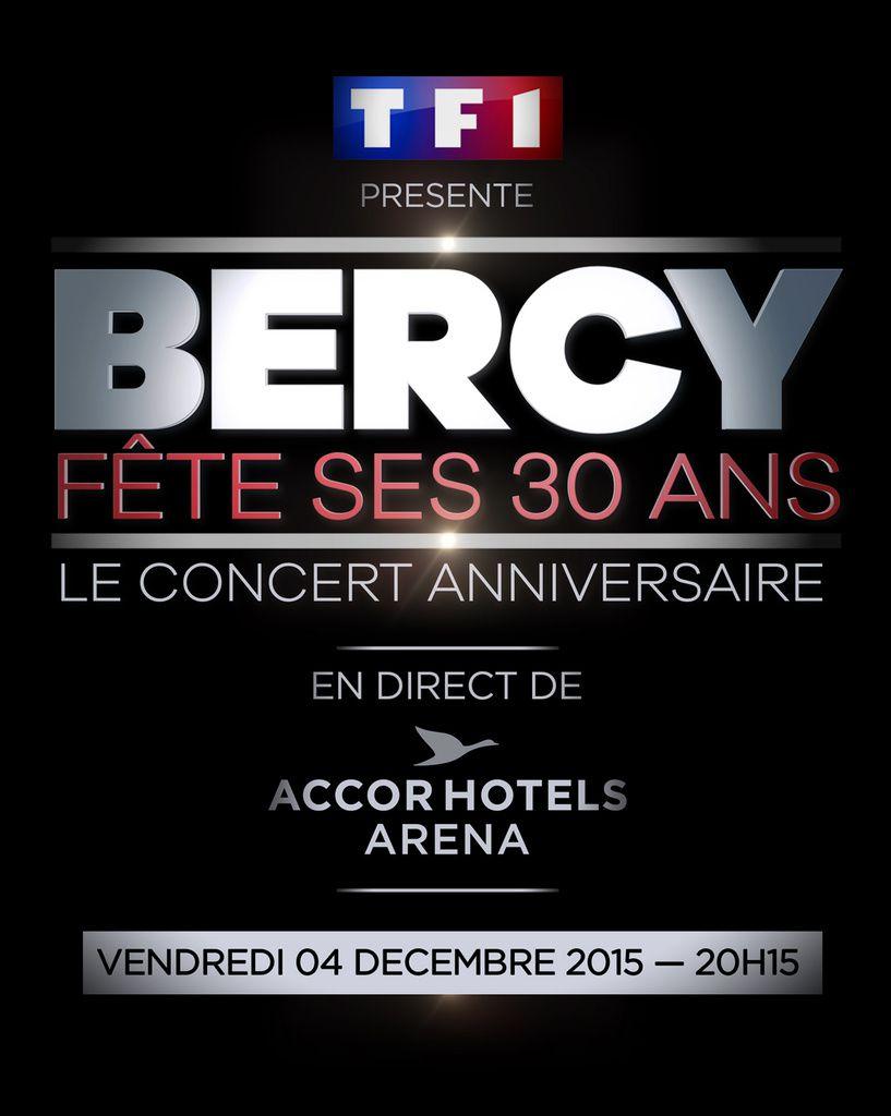 Liste des invités de la soirée Bercy a 30 ans, ce vendredi sur TF1.