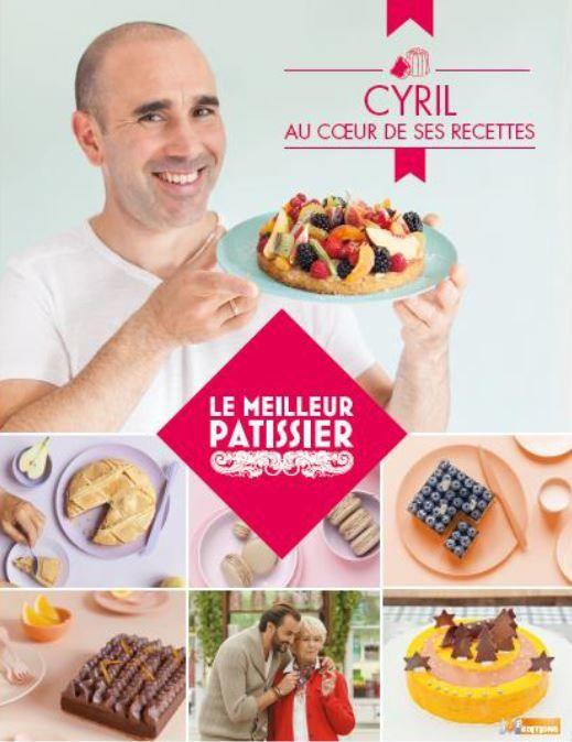 Sortie du livre de recettes du gagnant du Meilleur Pâtissier.