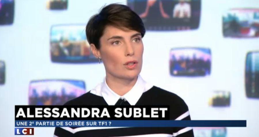 Alessandra Sublet confirme une nouvelle émission en 2ème partie de soirée sur TF1.
