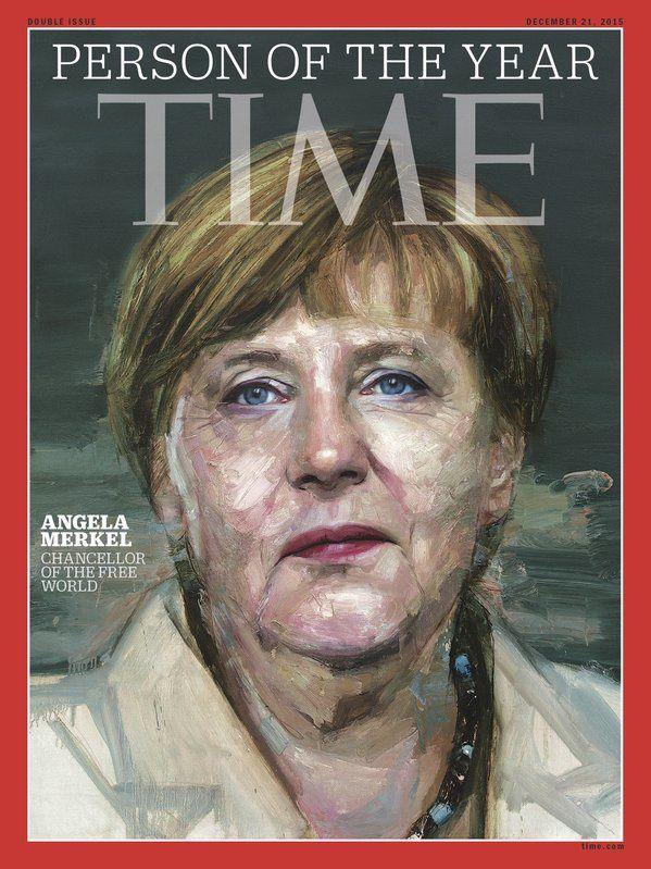 Time désigne la personnalité de 2015 : Angela Merkel.