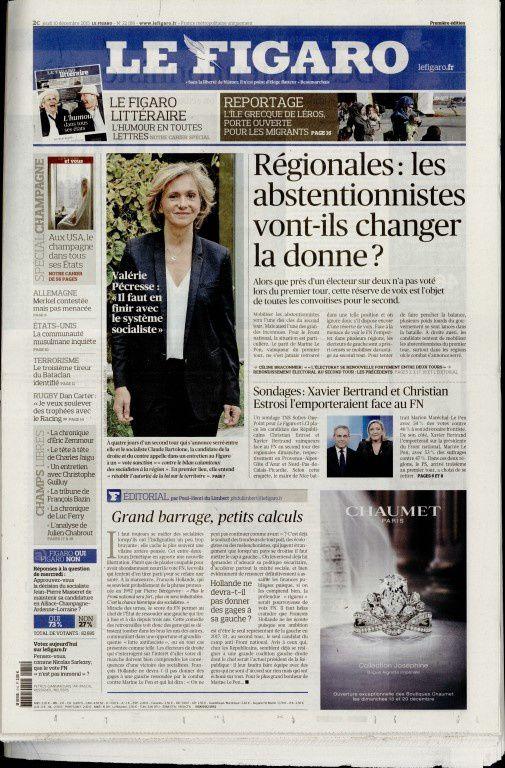 La Une de la presse quotidienne nationale ce jeudi 10 décembre.