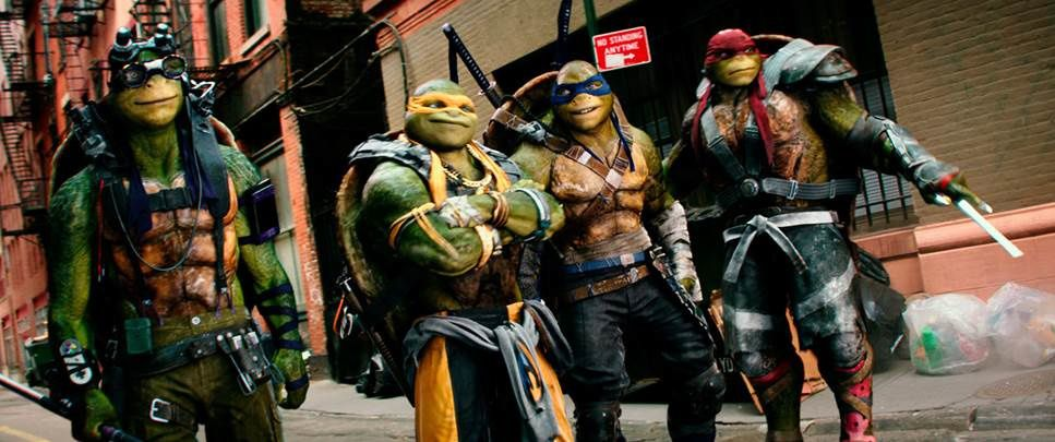 Première bande-annonce française du film Ninja Turtles 2.
